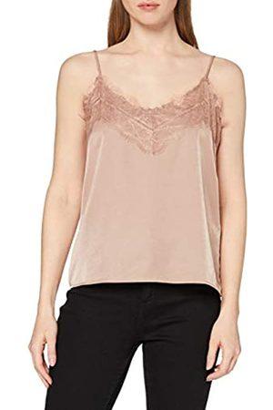 Object NOS Women's Objeileen Lace Singlet Noos T-Shirt
