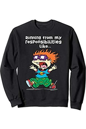 Nickelodeon Running From My Responsibilities Like Chucking Running Sweatshirt