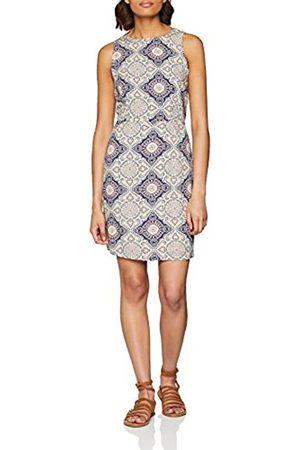 Only Women's Onlnova Caroline Aop S/l Dress Wvn Knee-Length Not Applicable Sleeveless Dress