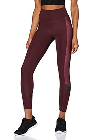 AURIQUE Amazon Brand - Women's Printed Side Panel Sports Leggings, 16