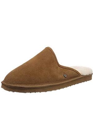 Padders Men's Nevis Open Back Slippers, (Camel 22)