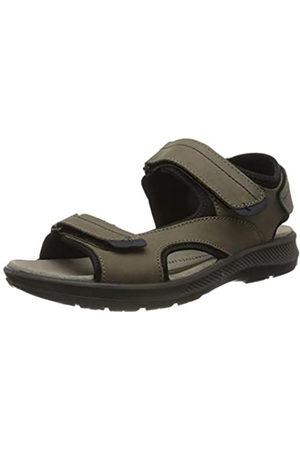 Jomos Men's Mobila II Sling Back Sandals, (Cognac/Navy 731-3181)