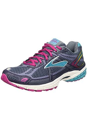Brooks Women's Vapor 3 Running Shoes, Multicolor (Peacoat/Bleue Bird/Festival Fuchsia)