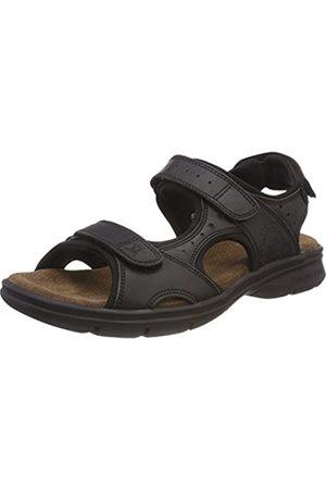 Panama Jack Men's Salton Basics Open Toe Sandals, Negro C2