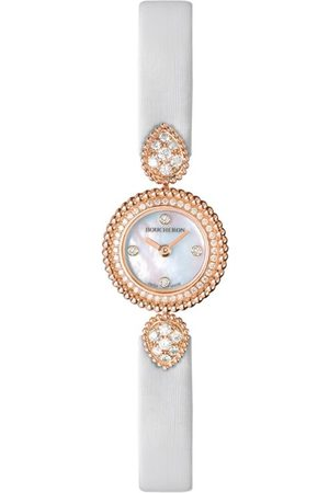 Boucheron Rose Gold and Diamond Serpent Bohème Watch 18mm