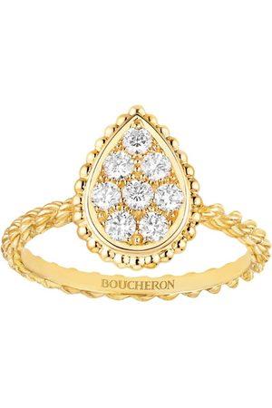 Boucheron Yellow Gold Serpent Bohème S Motif Ring