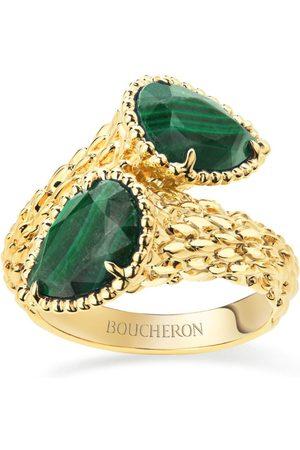Boucheron Yellow Gold Serpent Bohème Two-Stone Ring