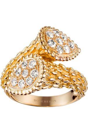 Boucheron Yellow Gold and Diamond Serpent Bohème Toi et Moi Ring