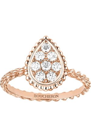 Boucheron Rose Gold Diamond Serpent Bohème Ring