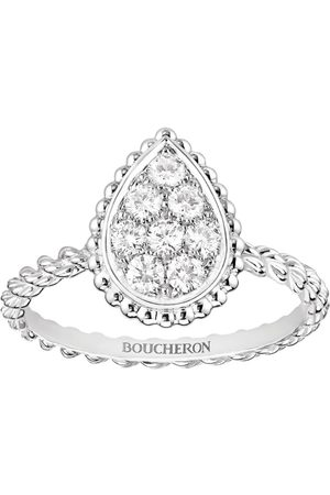 Boucheron White Gold Serpent Bohème S Motif Ring