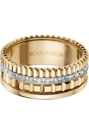 Boucheron Yellow Gold Quatre Radiant Edition Small Ring