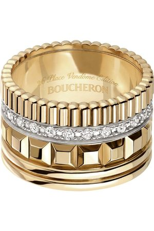 Boucheron Yellow Gold Quatre Radiant Ring
