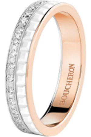 Boucheron Mixed Gold Quatre White Edition Wedding Band