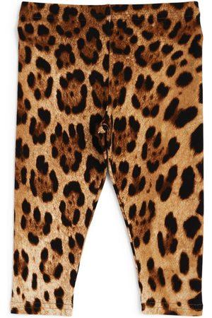 Dolce & Gabbana Kids Leopard Leggings (3-30 Months)