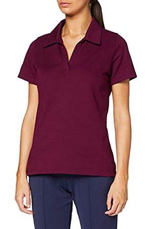 Trigema Women's 521612 Polo Shirt, -Rot (Sangria 089)