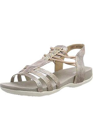 Rieker Girls' K2243 T-Bar Sandals, (Rose 31)