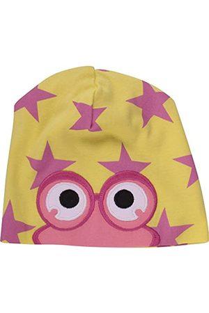 Green Cotton Baby Girls' Star peep Beanie Hat, -Gelb ( 012064201)