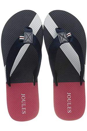 Joules Men's Flip Flops, (Navy Block Stripe NVYBLKSTRP)