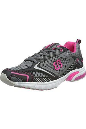 Bruetting Women's Fusion Running Shoes, (GRAU/Schwarz/ )
