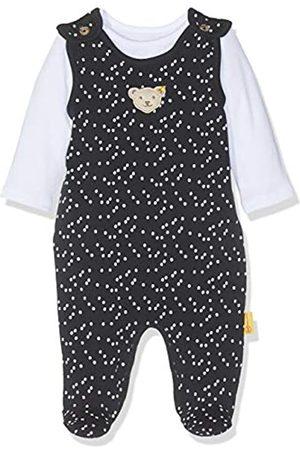 Steiff Baby Girls' Set Strampler + T-Shirt Footies
