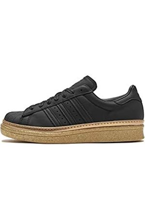 adidas Women's Superstar 80s New Bold W Fitness Shoes, (Negbás/Negbás/Dormet 000)