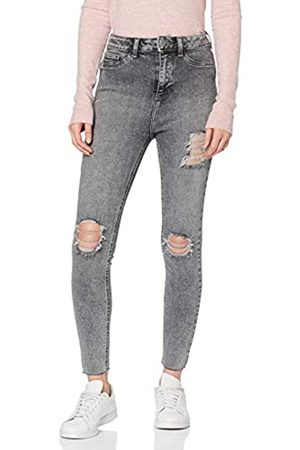 New Look Hi Rise Rip Shaper Jeans Skinny Donna