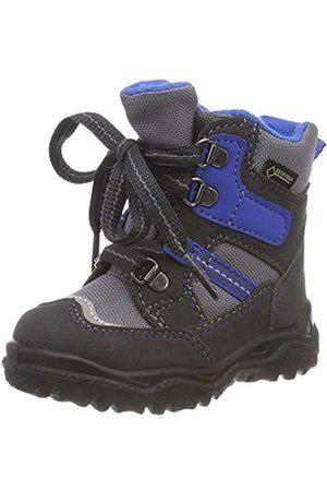 Superfit Boys' HUSKY1 Snow Boots, (Grau/Blau 20), 7.5 UK