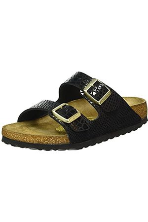 Birkenstock Arizona, Unisex - Adults Sandals, (Shiny Snake )