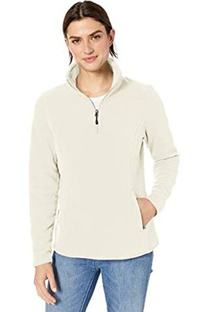 Amazon Quarter-zip Polar Fleece Jacket Ivory