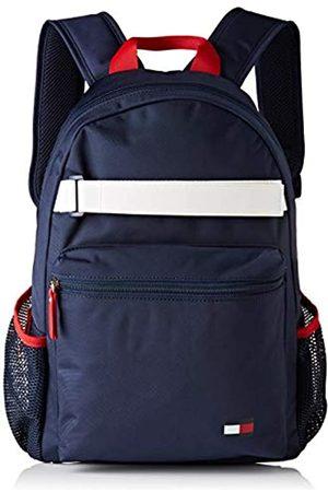 Tommy Hilfiger Unisex-Child Th Kids Flag Backpack Bag ( Iris)