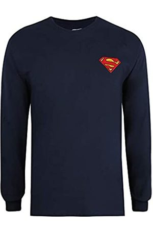 DC Men's Superman CORE Long Sleeve TEE T-Shirt
