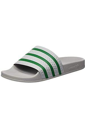 adidas Men's Adilette Sandal, Dash Gray/ /Dash Gray