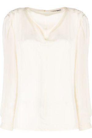 Giorgio Armani 1980s pre-owned blouse - Neutrals