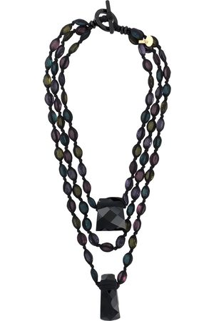 Giorgio Armani 2000s layered bead necklace