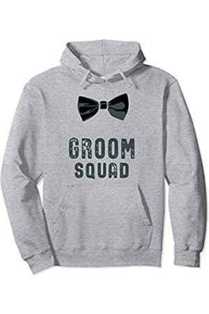 Bow Tie Groom Team Bachelor Party Gifts Mens Bow Tie Groom Squad Bachelor Party Pullover Hoodie