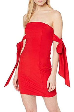 NEON COCO Women's Off-The-Shoulder Bodycon Dress