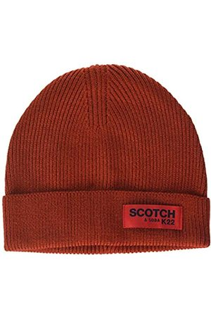Scotch&Soda Men's Classic Rib Knit Beanie Baseball Cap