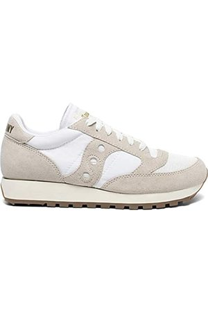 Saucony Women's Jazz Original Vintage Marshmallow Track and Field Shoe