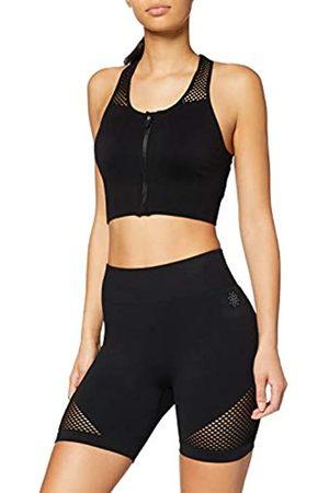 AURIQUE Amazon Brand - Women's Seamless Sports Shorts, 14