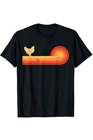 Eggcellent Chicken Co Chicken Retro Vintage Style 60s 70s Farm Gifts Men Women T-Shirt