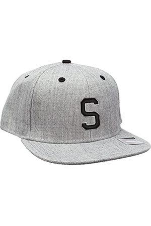 MSTRDS Letter Snapback S Baseball Cap, -Grau (S 1180,4634)