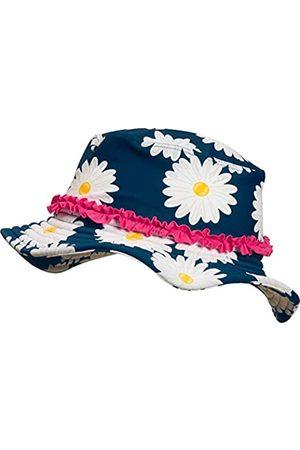 Playshoes Girl's UV-Schutz Sonnenhut Margerite Hat, (Navy)