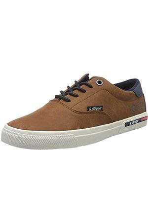 s.Oliver Men's 5-5-13609-24 Low-Top Sneakers, (Cognac 305)
