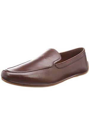 Clarks Men's Reazor Plain Loafers, (British Tan Lea British Tan Lea)
