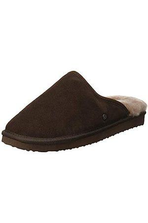 Padders Men's Nevis Open Back Slippers, (Dark 87)