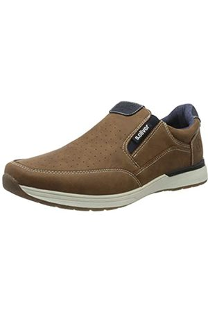 s.Oliver Men's 5-5-14605-24 Loafers, (Cognac 305)