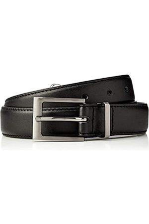 HIKARO Amazon Brand - Men's Belt, Pack of 2, Multicolour (Gingham / Gingham Red), 36