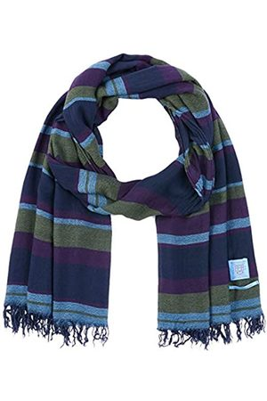 Scotch&Soda Men's Lightweight Woven Scarf In Cashmere Blend Quality