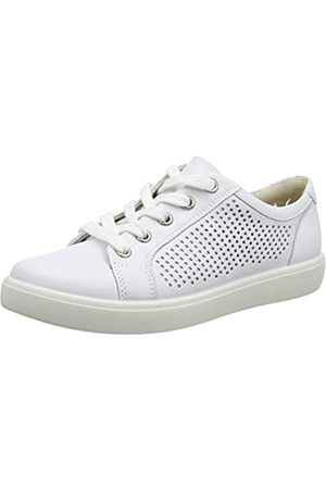 White Wide fit Trainers for Women