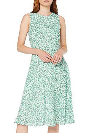 Koton Women's Sommerkleid Mit Feinem Floralem Muster Party Dress